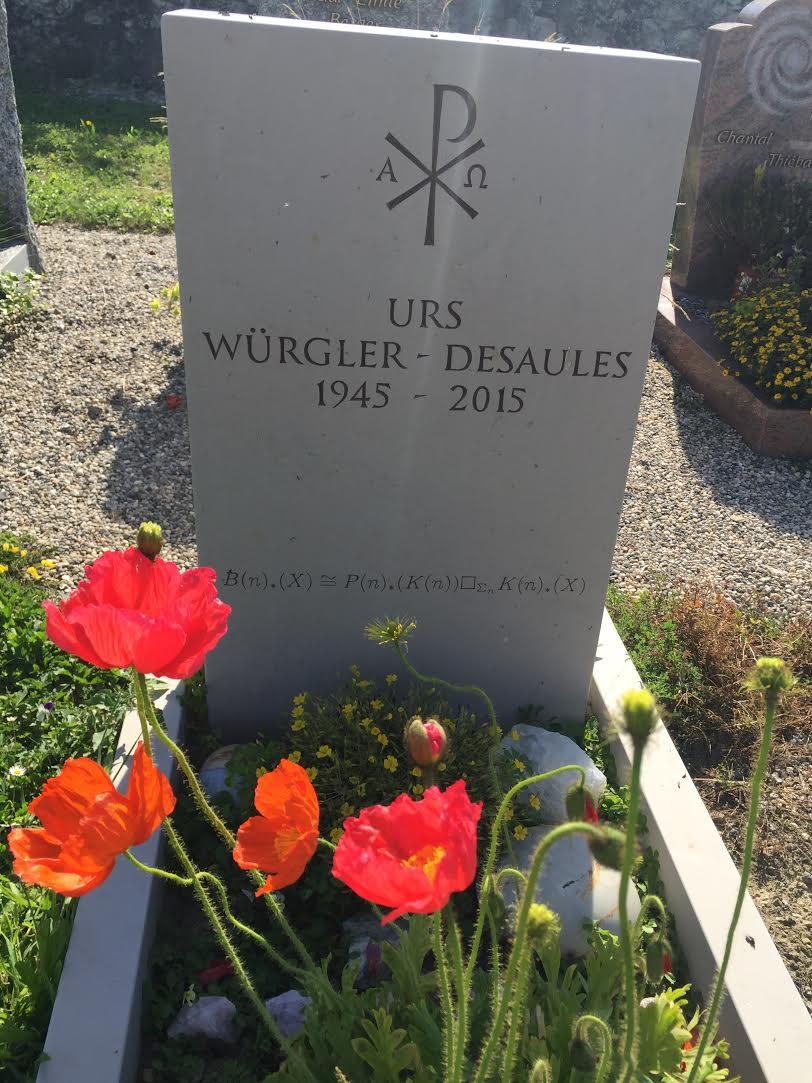 Tombe d'Urs Würgler