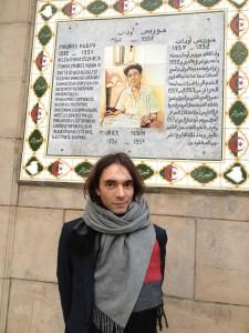 Sur la place Maurice Audin à Alger