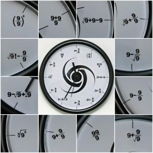 The Triple Nine Society Wall Clock