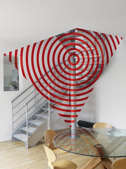 «Cercle et ondes de cercle pour le trapèze» Montrouge 201